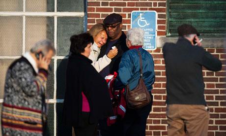 Newtown families grieve