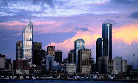 Melbourne city centre