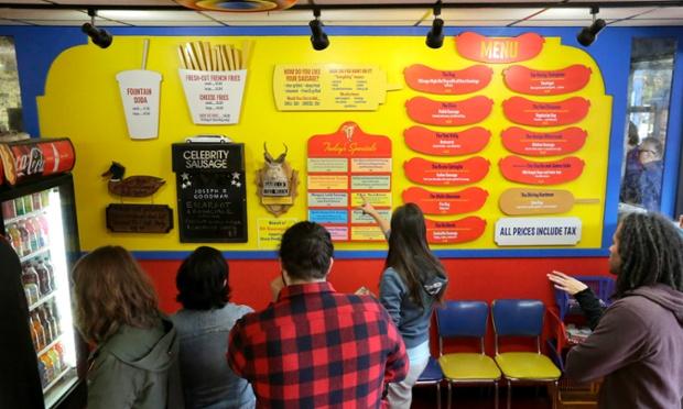 Hot Dog Line